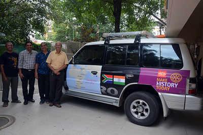 October 10: A friendship drive across Africa | Pune News
