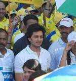 Riteish at Mumbai Marathon '10