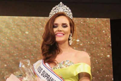 Viviana Florentin crowned Miss Miss Supranational Paraguay 2016