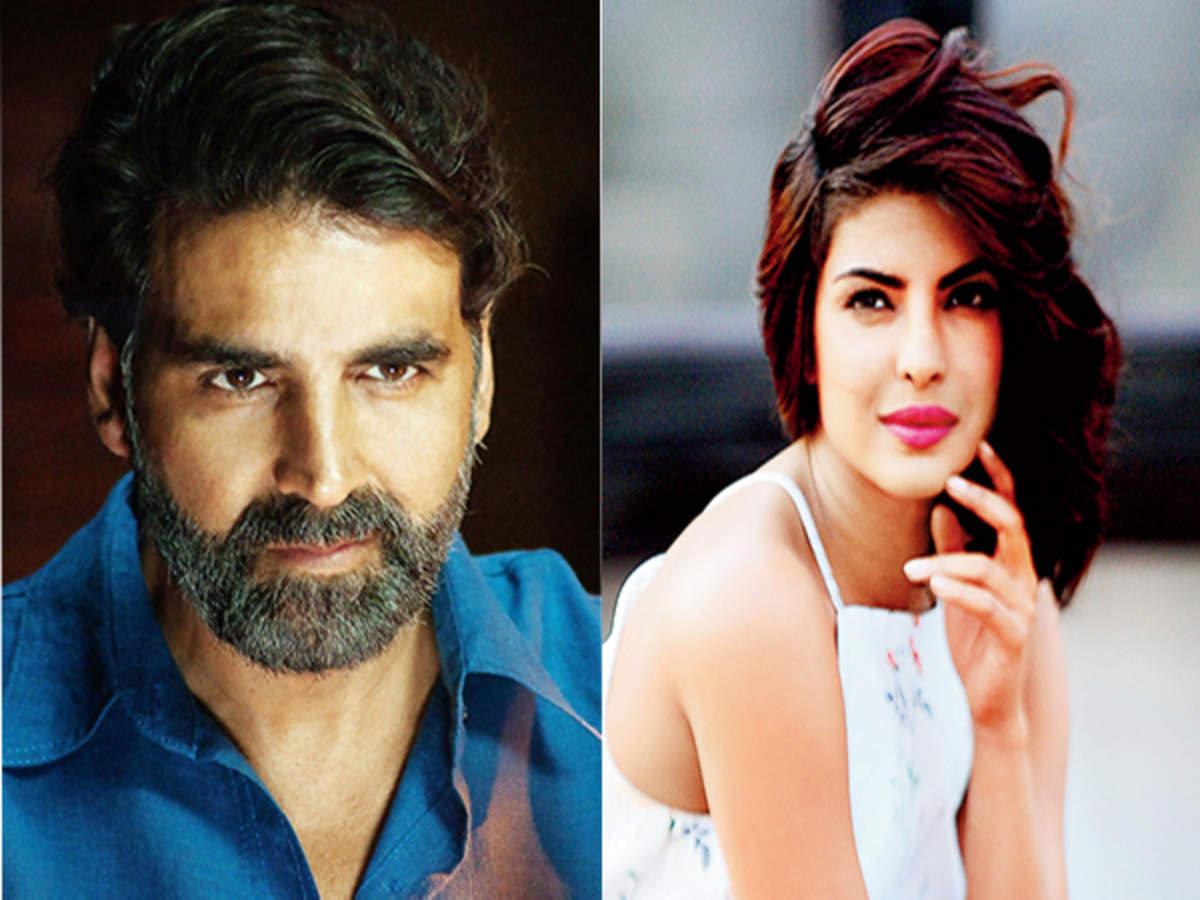 Priyanka Chopra: Akshay Kumar and Priyanka Chopra take No. 1 position on  Times Celebex | Hindi Movie News - Times of India