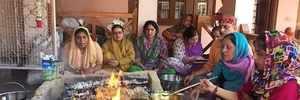 On Navami, Kashmiris pray to Goddess Durga for peace