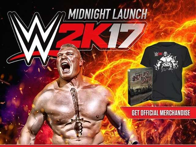 WWE 2K17 to launch in India at midnight, price starts at Rs 2,499