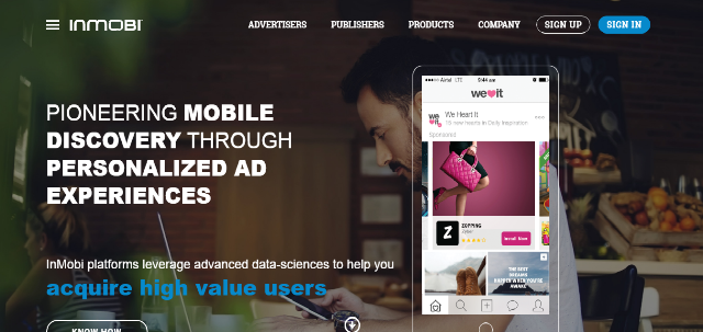 Mobile ad-tech company InMobi to invest $15 million in China business
