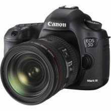 Canon EOS 5D Mark III (EF 24-70mm f/4L IS USM Kit Lens) Digital SLR Camera