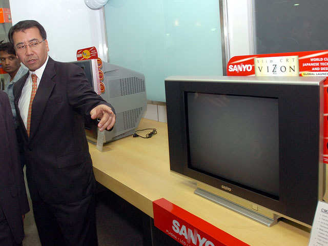 Sanyo to exclusively offer products online