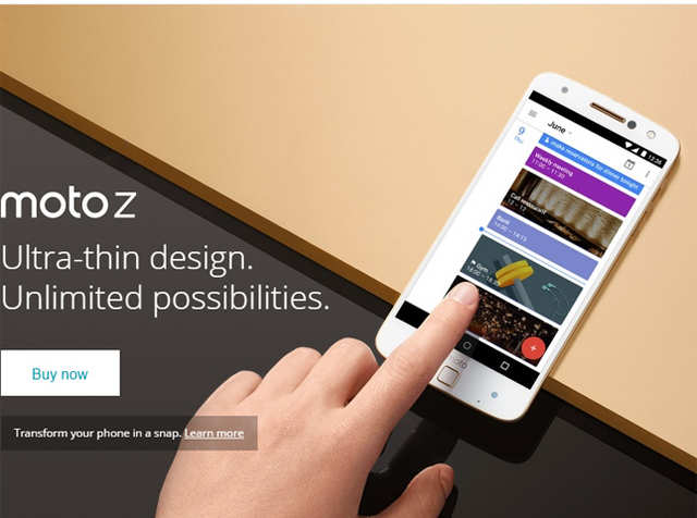 The latest offering from Motorola Moto Z is exciting. Not the phone actually which in my view can be contested and is similar to a lot of phones out in the market, barring the sleekness.