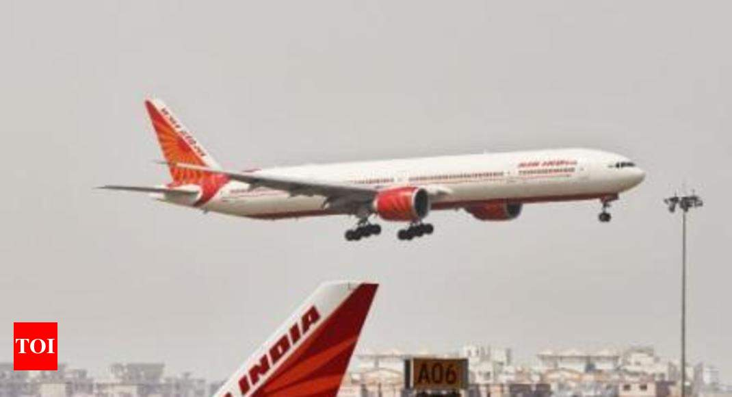 Pacific: Air India flies Delhi-San Francisco nonstop over Pacific ...