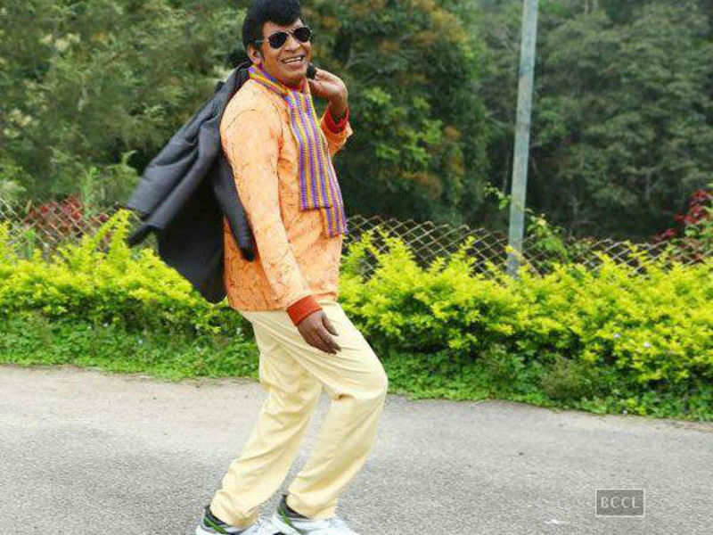 Neruppuda song for Vadivelu?