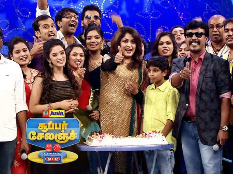 Vamsam 1000th episode celebration on Super Challenge