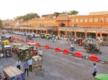 Barricades between Tripolia and Badi Chaupar removed