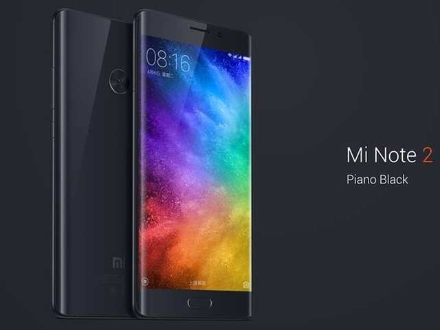Xiaomi launches its first dual-curved display and 6GB RAM smartphone, Mi Note 2