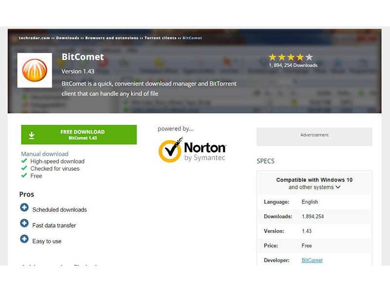 bittorrent app for windows 10