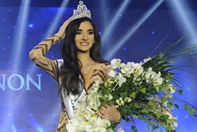 Sandy Tabet crowned Miss Lebanon World 2016