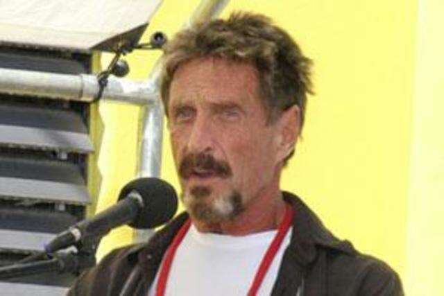 John McAfee: Look within to track Indian bank hack