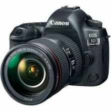 Canon EOS 5D Mark IV (EF 24-105mm f/4L IS II USM Kit Lens) Digital SLR Camera