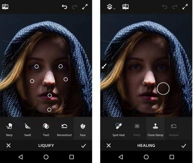 Adobe launches Photoshop Sketch, Fix and Comp CC for Android users