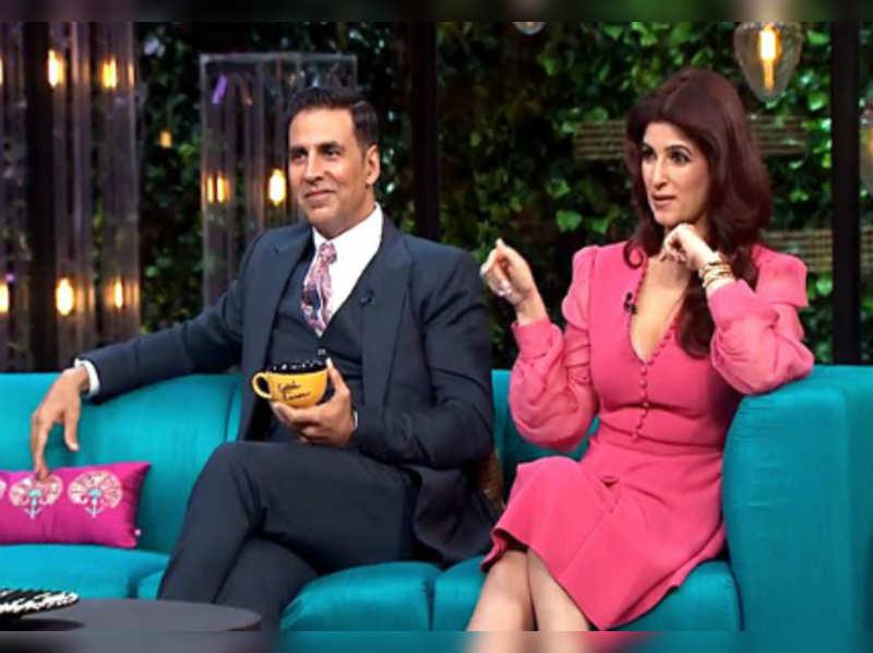 Twinkle Khanna stuns on Koffee with Karan