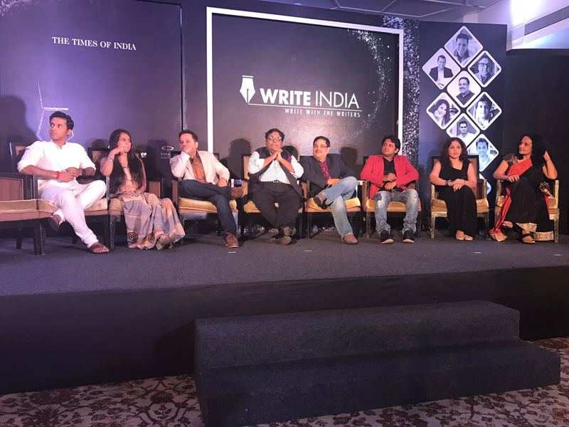 The grand unveiling of 'Write India Stories'