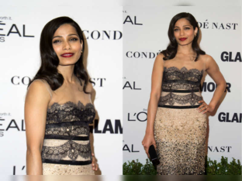 Freida Pinto rules the Hollywood red carpet