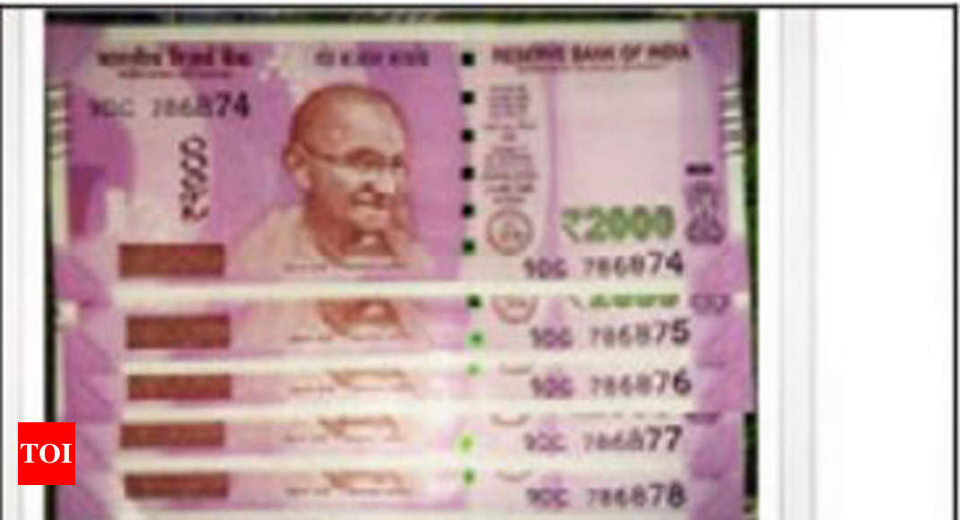 2000 Rupee Note in eBay: Rs 2k notes offered for Rs 1 5L on
