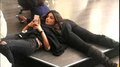 Priyanka Chopra chills like a boss on 'Quantico' sets