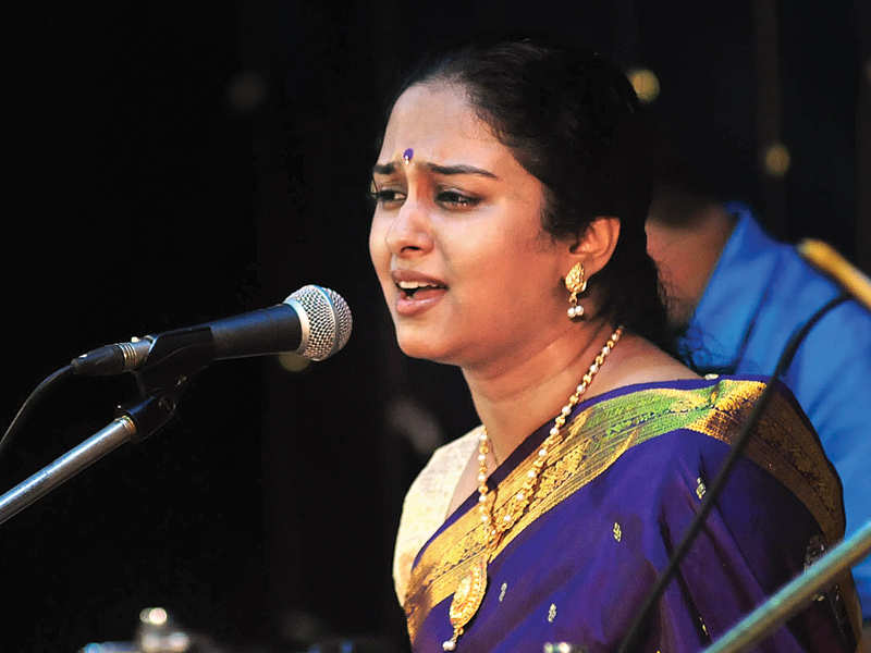 Carnatic music has always been part of my life