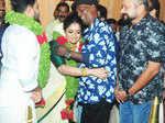 Celebs at Dileep, Kavya Madhavan wedding