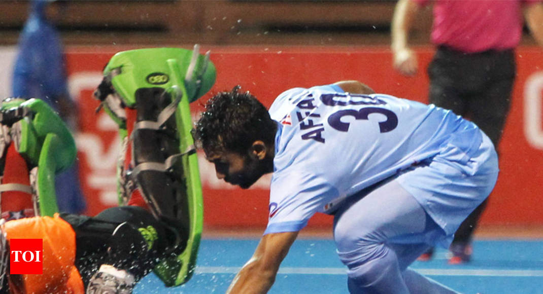 India vs Australia Hockey match: Affan Yousuf scores twice