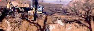 People donate money for digging a huge hole