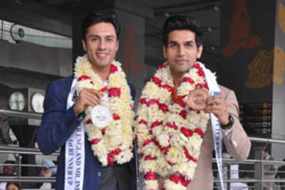 Happy homecoming for Mr India runners-up in Delhi