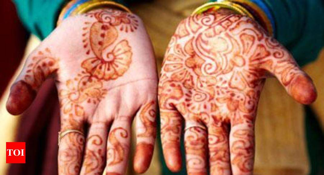 designing modern mehndi trends surat news times of india
