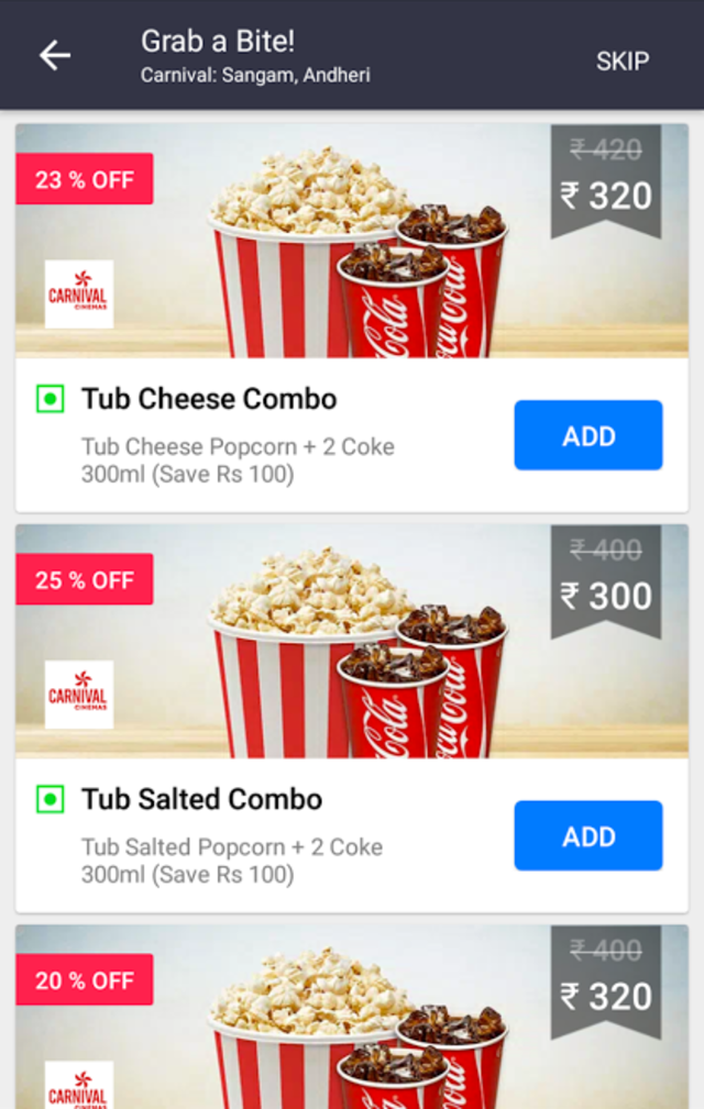 BookMyShow updates Android app with new design, personalized suggestions