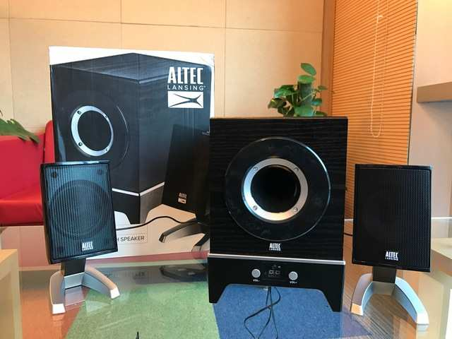 Altec Lansing Claw 2 1 review: Get clawed | Gadgets Now