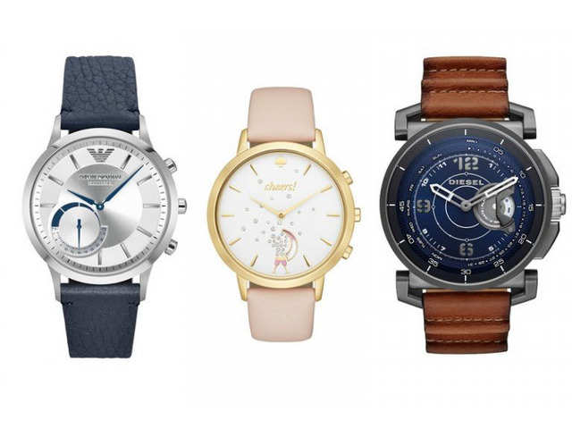 c7e6f6399 Fossil launches Diesel, Armani and Kate Spade hybrid smartwatches ...