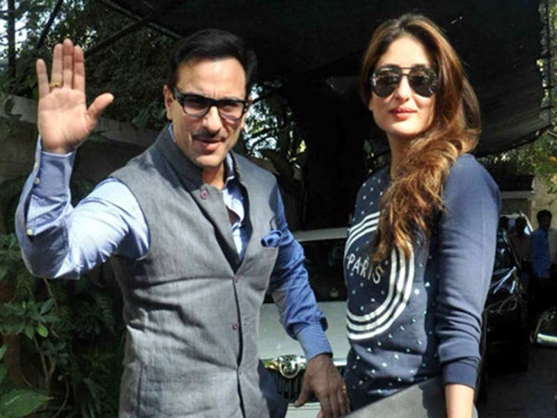 Kareena Kapoor Khan and husband Saif Ali Khan