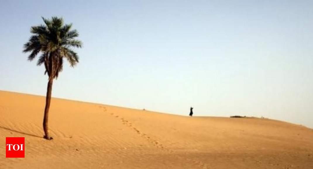 It happened in the desert