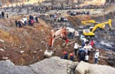 Land caves in at Hiranandani site, two killed | Thane News - Times