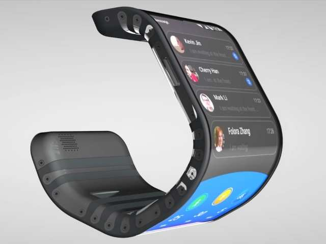 flexible smartphones may become common by 2018 report latest news gadgets now. Black Bedroom Furniture Sets. Home Design Ideas