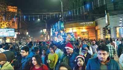 Park Street Kolkata During Christmas.Christmas In Kolkata All Roads Lead To Park Street On