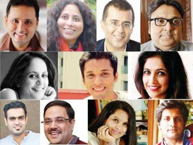 The 11 participating authors of Write India season 1.