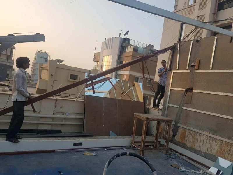 BMC demolishes Arjun Kapoor's illegal terrace gym