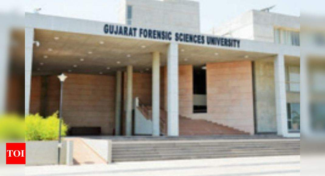 50 Myanmar Cops To Study Forensics At Gujarat Forensic Sciences University Ahmedabad News Times Of India