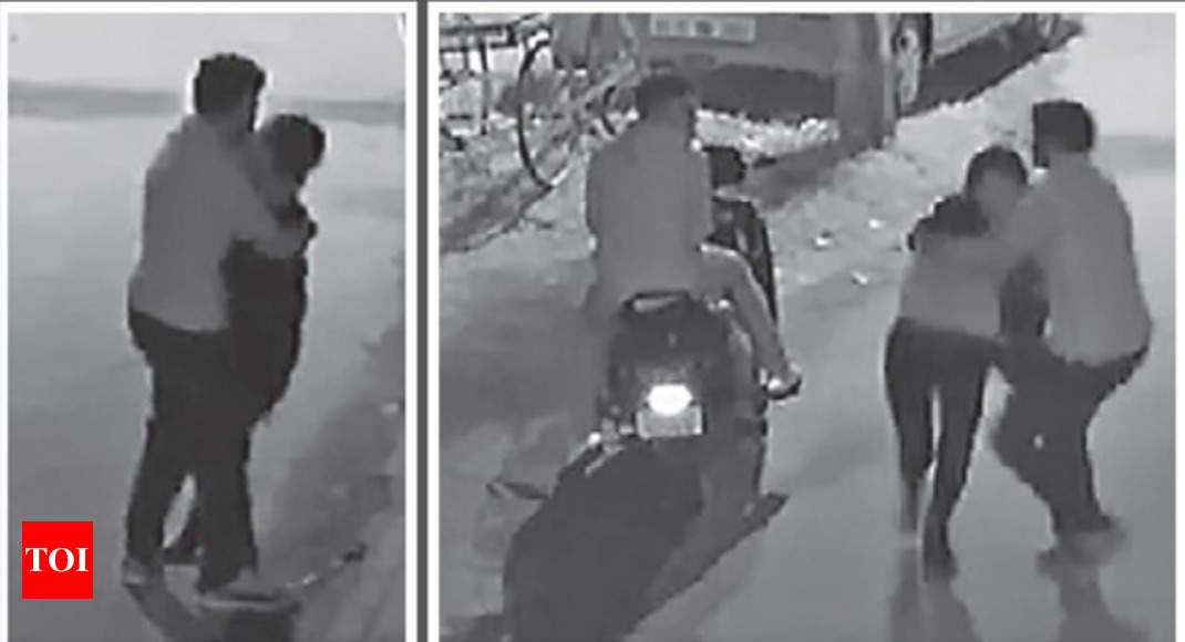 Bangalore molestation: CCTV grabs show beasts that roamed