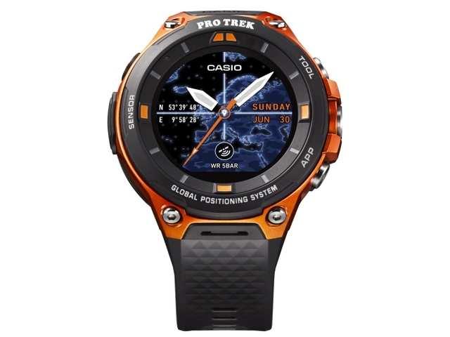 Casio WSD F20 Smartwatch Adds GPS Functionality SmartWatch