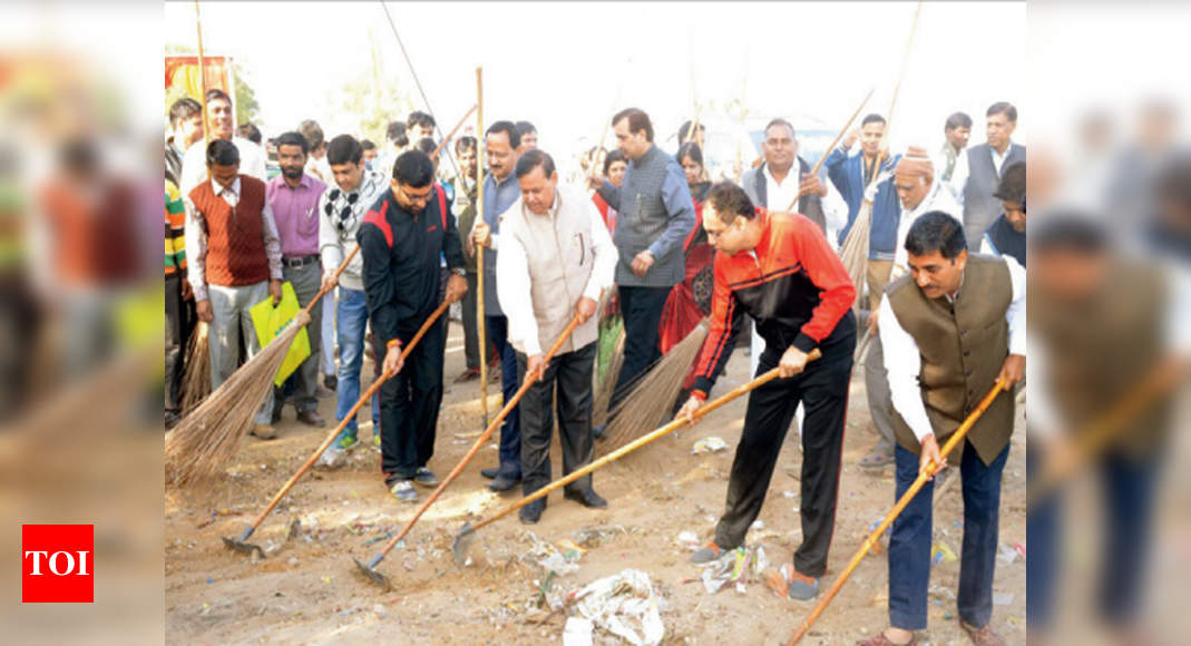 Steel City Steel City Prepares For Clean Sweep Jamshedpur News Times Of India