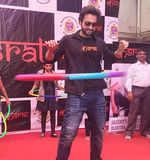 Jackky Bhagnani promotes Kasrat