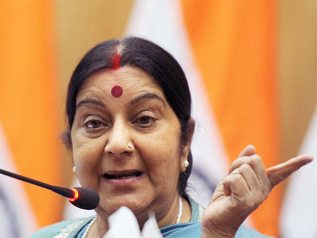 Sushma also asked the Indian High Commission in Canada to take up the matter with Amazon.
