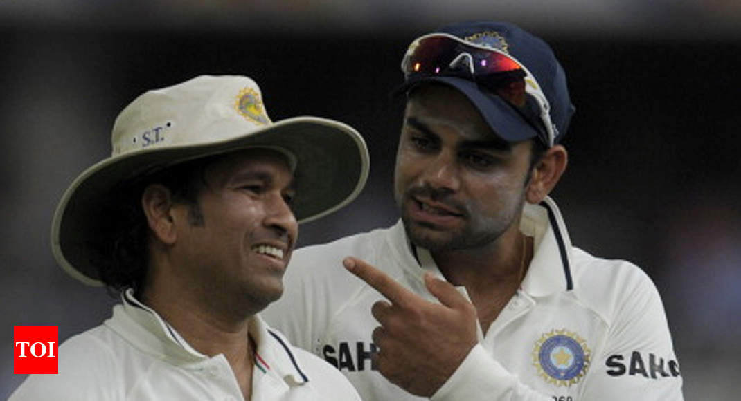 Virat Kohli: Tendulkar much better player than Kohli, says