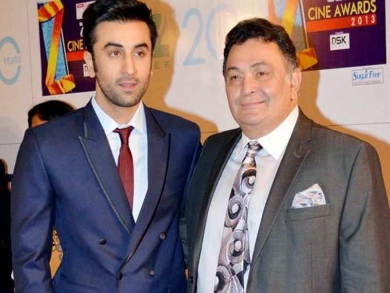 Ranbir Kapoor: Rishi Kapoor: I can't be a friend to my son Ranbir Kapoor |  Hindi Movie News - Times of India