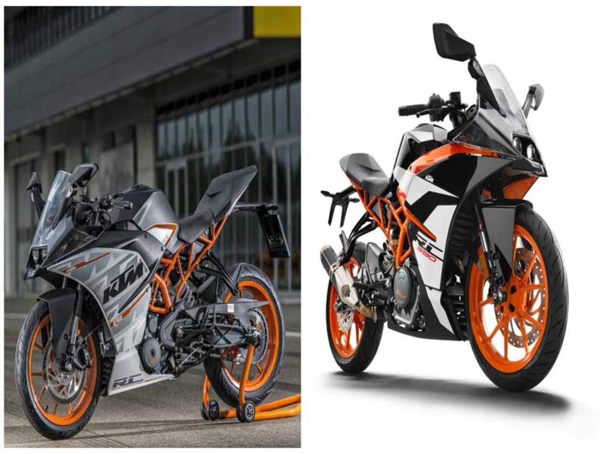 Ktm Ktm Rc 390 Old Vs New Times Of India
